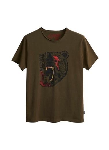 Bad Bear Tişört Haki